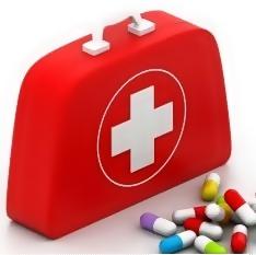 Geanta cu pastile
